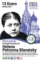 El legado filosófico de Helena Petrovna Blavatsky