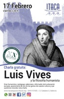 Charla gratuita: Luis Vives y la filosofía humanista