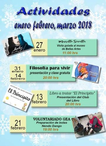 Actividades Enero/Febrero