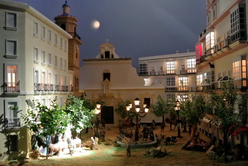 Exposición pública de nuestro tradicional Belén.