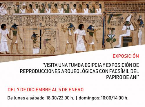 Exposición Sobre Egipto