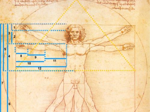 Proporción y geometría: el número de oro