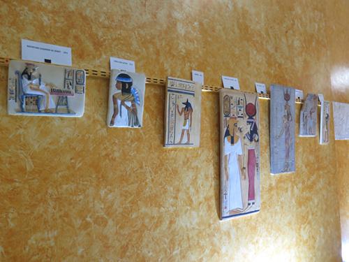 Exposición de reproducciones arqueológicas