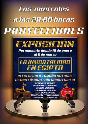 PROYECCIONES TODOS LOS MIÉRCOLES