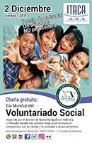 Charla por el Día Mundial del Voluntariado Social